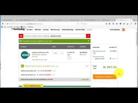 Making first transaction using Credit Card First time  Part 3