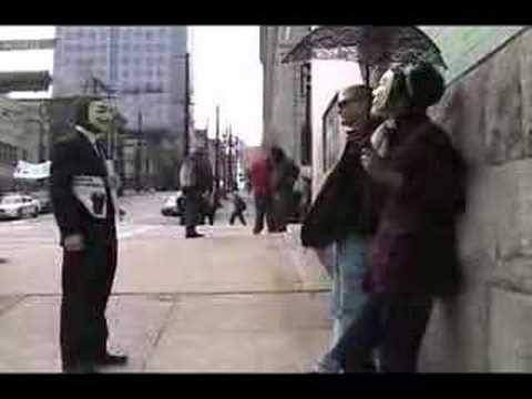 Anonymous vs. Scientology: Epic Staredown