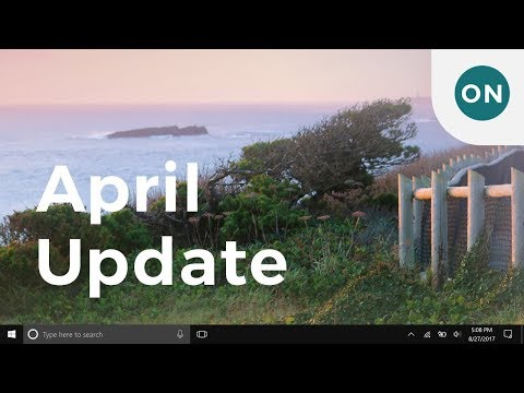 The many new features in the Windows 10 April Update