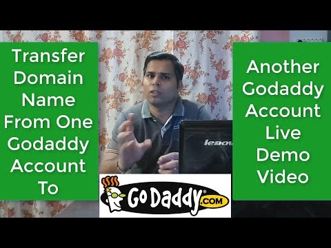 How To Transfer A Domain To Another Godaddy Account | Godaddy to Godaddy Domain Transfer