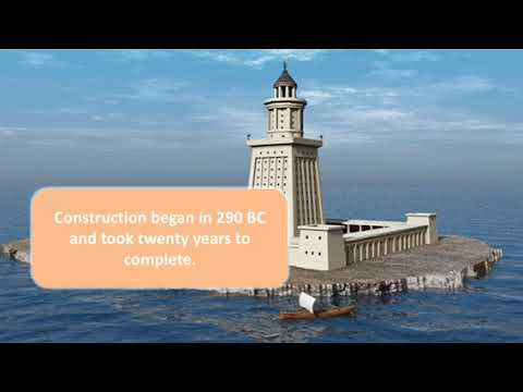 school project thingy about lighthouse of alexandria