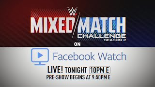 WWE Mixed Match Challenge streams LIVE tonight on Facebook Watch