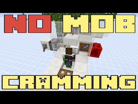 Minecraft XP Grinder - Unlimited Mobs - Exploiting Mob Cramming Tutorial