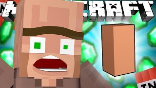 Why Villagers REALLY Have Big Noses - Minecraft