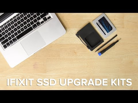 Speed Up Your Mac!! iFixit SSD Upgrade Kits