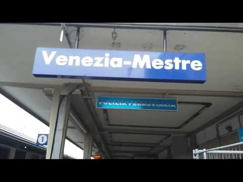 #32 Как купить билет на поезд Местре-Венеция  (Mestre-Venice) в Италии