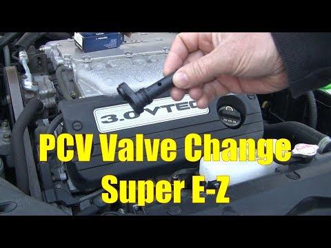 2003-2007 Accord V6 PCV Valve Change