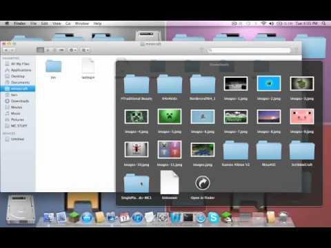 Minecraft 1.1 Single Player Commands & World Edit Installation Tutorial ( Mac )