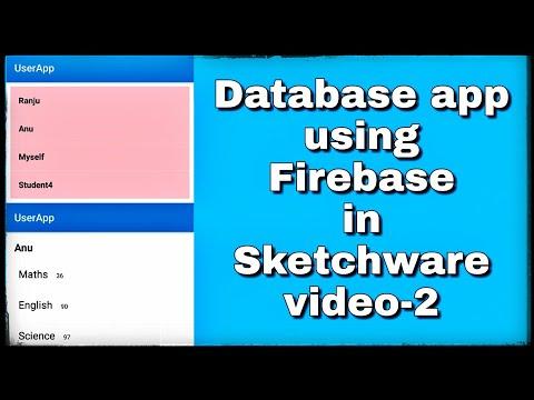 Continued.. Database app in sketchware