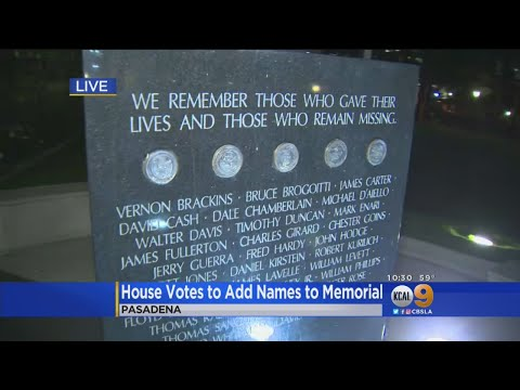 House Votes To Add Names To Vietnam Memorial