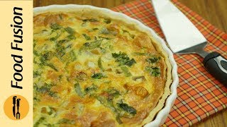 Chicken Quiche Recipe By Food Fusion