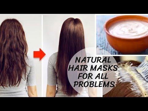 NATURAL HAIR MASKS I Hair Fall I Dandruff I Infection I Hair Growth I Hair Fall
