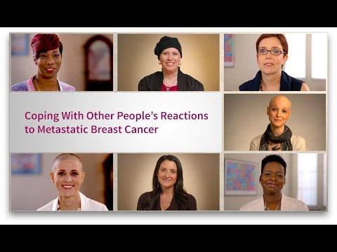 Coping With Other People's Reactions to Metastatic Breast Cancer