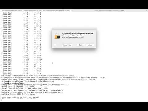 How to Install Homebrew on macOS Sierra Mac OS X