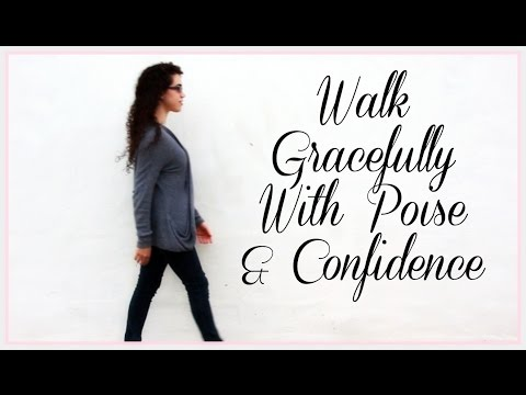 Ladylike Charm: Your Graceful Walk