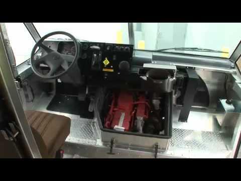 UPS Diesel HEV Delivery Truck