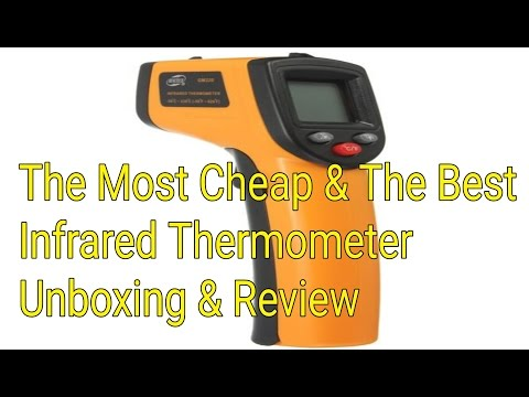 The Most Cheap & The Best Infrared Thermometer Unboxing & Review | #InfraredThermometer #Infrared