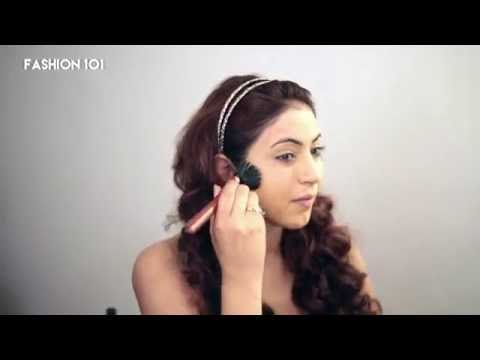 Fashion101 Makeup Tutorial: How to make your face look slimmer