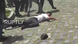 Venezuela: National Assembly deputies left bloodied as pro-govt. protesters storm facility