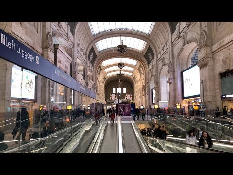 Malpensa Express Train 🚆 to Milan Central Station (Milano Centrale)【4K】