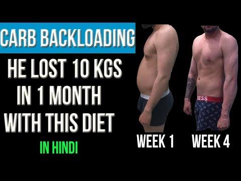 CARB BACKLOADING : THE BEST FAT LOSS DIET SECRET    LOSE 10kg in 1 Month