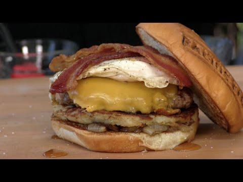 Breakfast All Day Burger Recipe! BurgerFi Copycat