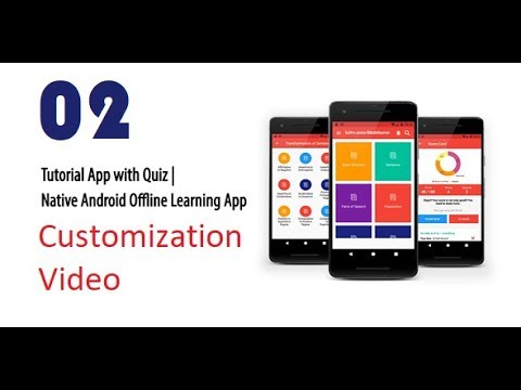 02. How to edit contents and quiz in Android Studio - Tutorial & Quiz Android App with Source Code