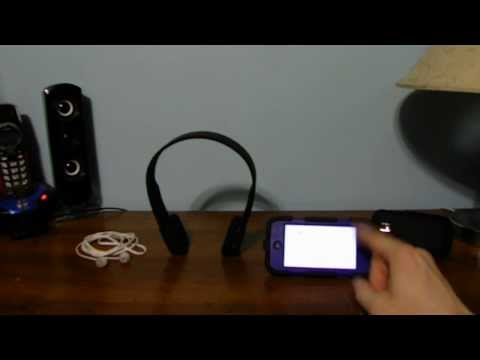 How to you connect your bluetooth headphones to your iPod Touch