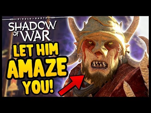 THE AMAZING ORC CIRCUS!   Shadow of War - Desolation Of Mordor Funny Moments Gameplay