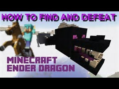 HOW TO FIND THE ENDER DRAGON + PORTAL TO THE ENDER CITY