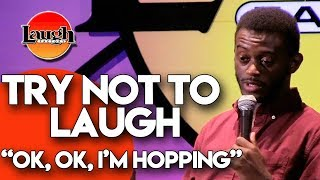 Try Not to Laugh | Ok, Ok, I'm Hopping | Laugh Factory Stand Up Comedy