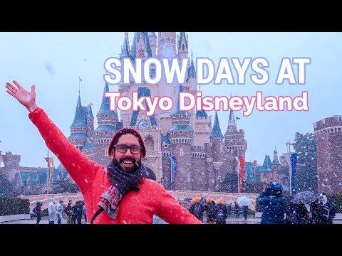 What Happens When It Snows at Tokyo Disneyland   JAPAN TRAVEL TIPS