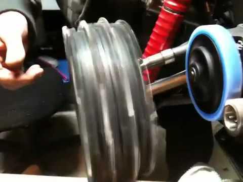 RC-Skin helical friction test hpi Baja