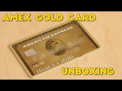 Amex Gold Card UNBOXING + Perks Explained