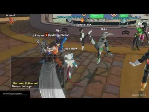 DRAGON BALL XENOVERSE 2 Open Beta(BINGO DANCE SQUAD!!!)
