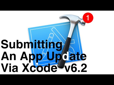 How To Submit An Application Update Via Xcode 6 & New iTunes Connect