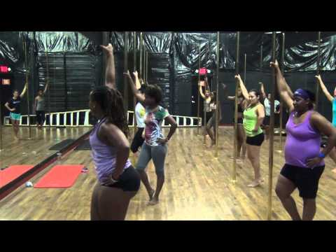 Beginners Pole Fitness - One pound at a time.