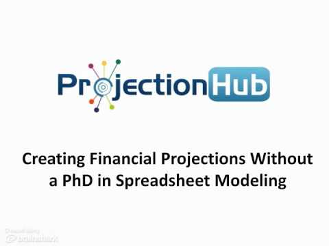 ProjectionHub - Creating Financial Projections