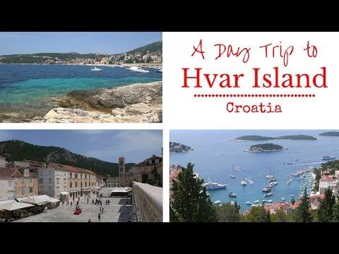 A Day Trip to Hvar Island, Croatia - Weekly Travel Vlog 3