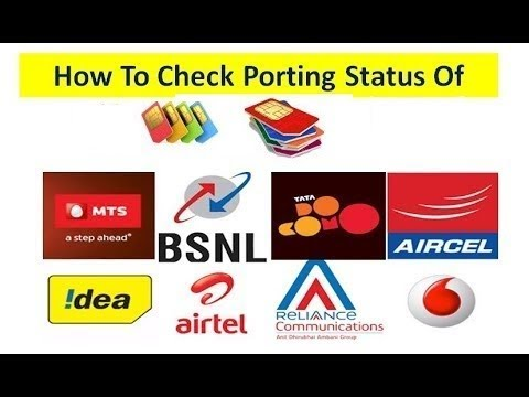 How To Check Porting Status MNP Mobile Number Portability