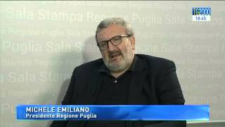 """Michele Emiliano, governatore della Puglia: """"Il Sud è l"""