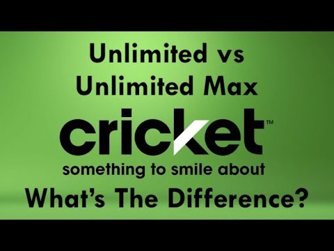 Cricket Wireless - Unlimited vs Unlimited Max Plans Explained!