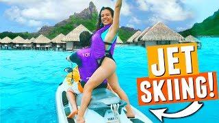 Couples Go Jet Skiing in Bora Bora!🌴🌞🌊