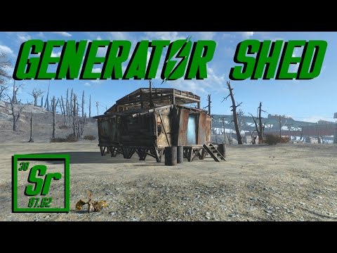 Let's Build a Generator Shed