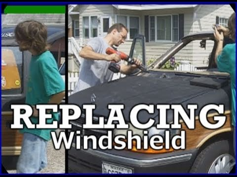 Replacing A Broken Windshield / Removing & Changing Out EXO's NEW Window - How To Change GLASS