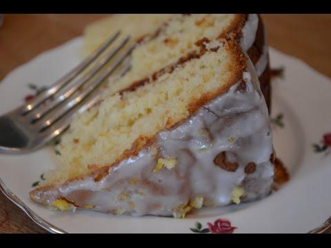 How to make: Lemon sponge cake
