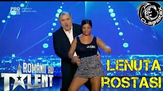 ROMANII AU TALENT - Lenuta Rostasi (21/04/17)