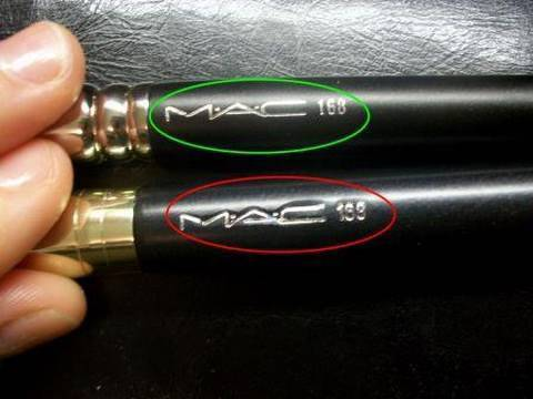 FAKE MAC Cosmetics!! How to Spot Fake MAC Brushes (In Depth Comparison to Real MAC)