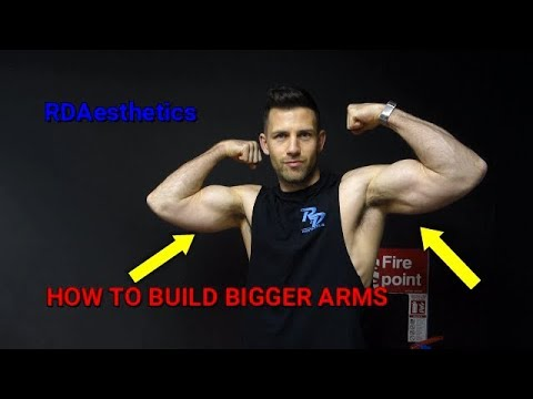 How to get Big Arms - FAST !!!!! (Biceps and Triceps)