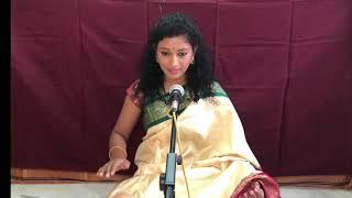 Live singing series by Madhu Iyer   Nee Padhame Gathi   Nalinakanthi